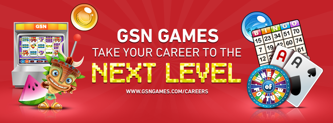 GSN Games take your career to the next level